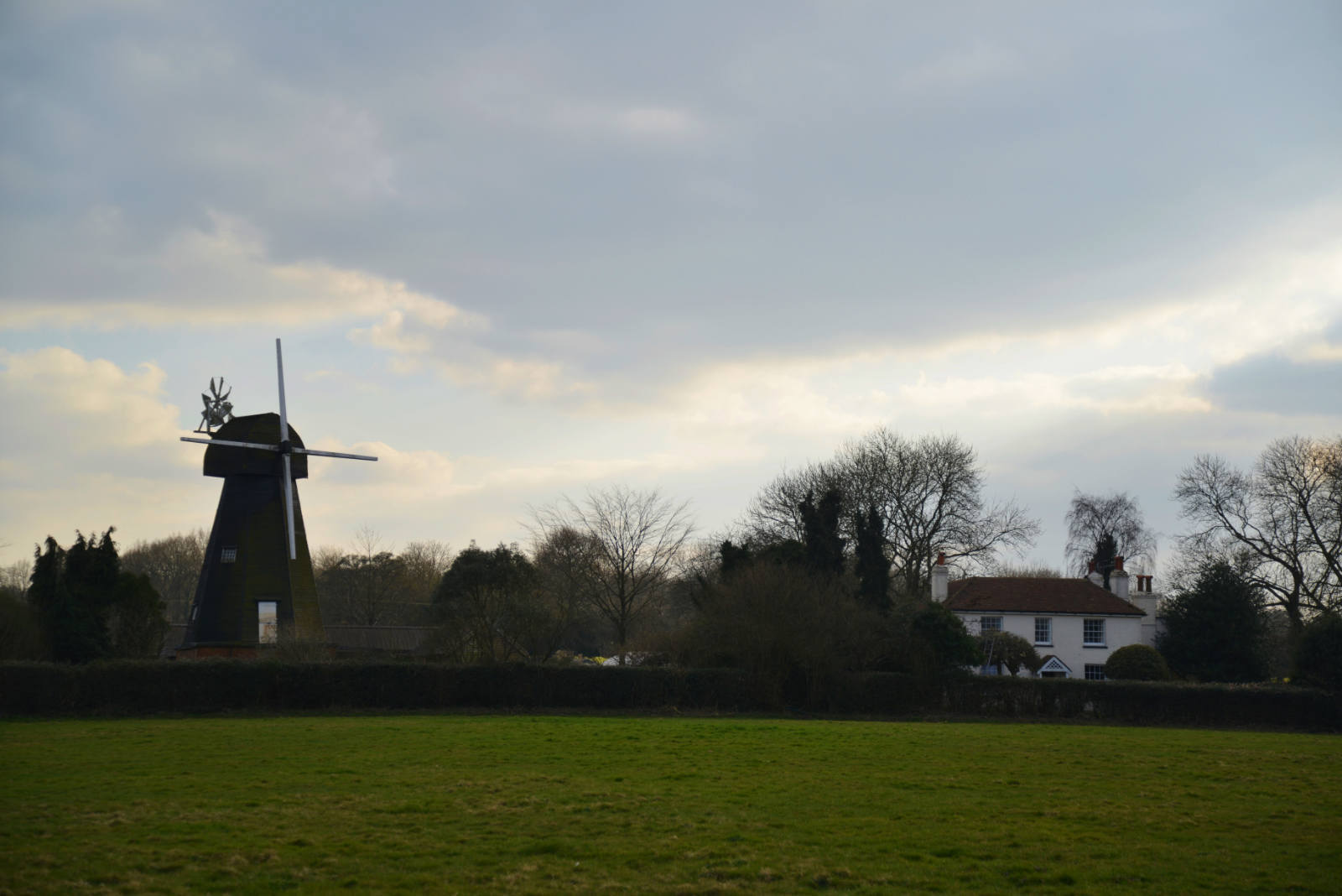 A windmill in West Kingsdown, Kent